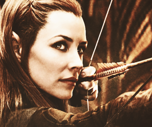 LOTR and tauriel image