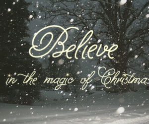 believe, christmas, and cold image