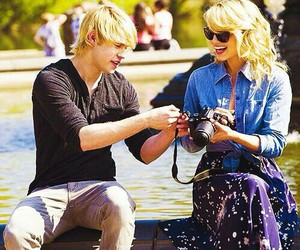 dianna agron, glee, and chord overstreet image