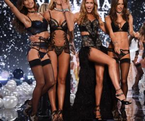 fashion, black, and sexy image