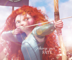 curly, disney, and fate image