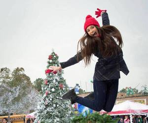 christmas, Nina Dobrev, and tvd image