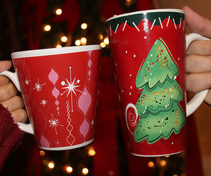 christmas, mugs, and tumblr quality image