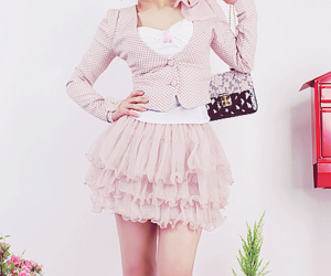 fashion, pink, and pretty image