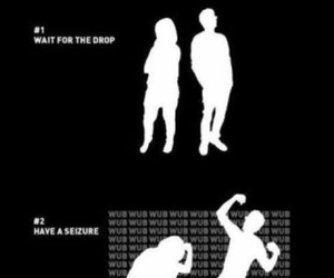 dubstep, funny, and dance image