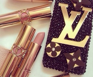lipstick, make up, and LV image