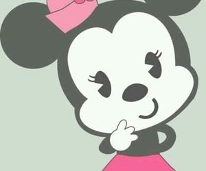 minnie, disney, and cute image