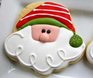 christmas, santa, and food image