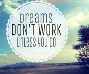 dreams, work, and impossible image