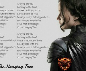 part 1, song, and the hunger games image
