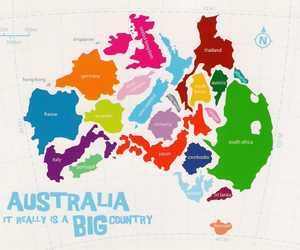 australia and country image