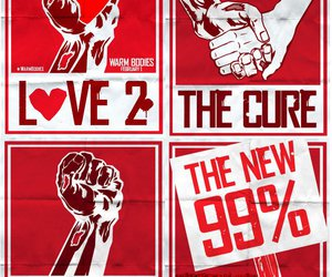 posters, red, and love image