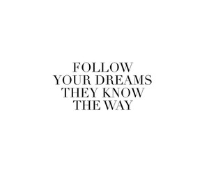 Dream, quote, and teen image