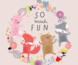 cute, fun, and illustration image