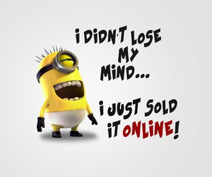 minions, funny, and online image