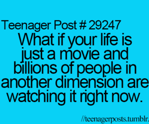 life, movie, and teenagers image