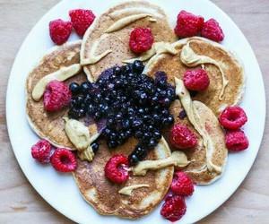 FRUiTS, pancakes, and usa image