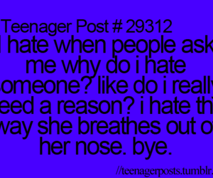 teenager post and hate image
