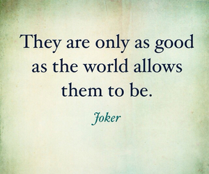 quote and joker image
