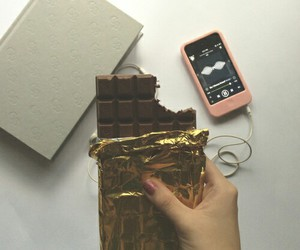 chocolate and book image