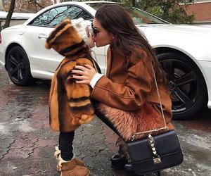 fashion, baby, and kiss image