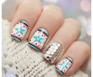 nails, cute, and christmas image