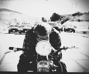 sons of anarchy, biker, and Charlie Hunnam image