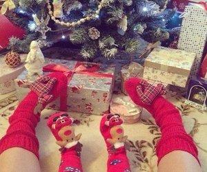 christmas, family, and baby image