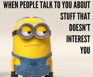 minions, funny, and quote image