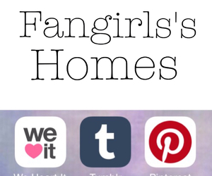 home, fangirl, and girl image
