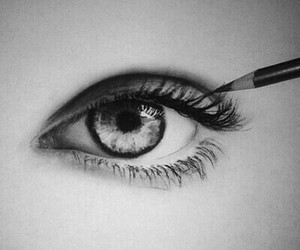 creative, pencil art, and so cute image