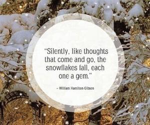 gem, silence, and snowflake image