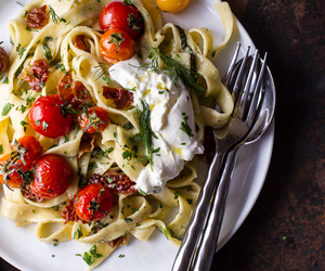 pasta, food, and tomato image