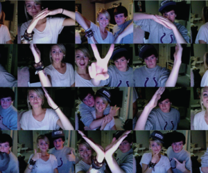 love, heart, and couple image
