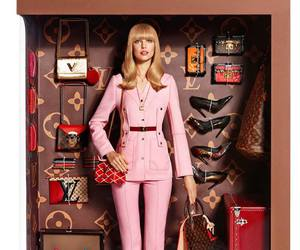 Louis Vuitton, barbie, and doll image