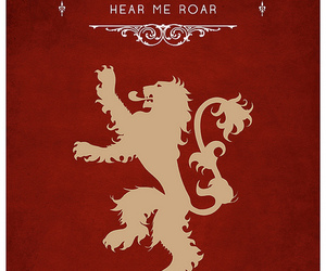 game of thrones, lannister, and house image