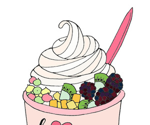 transparent, overlay, and froyo image