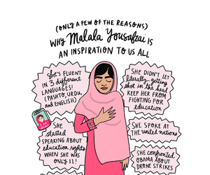 malala, feminism, and inspiration image