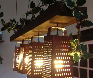 light, diy, and kitchen image
