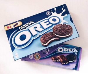 oreo, chocolate, and food image