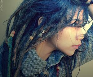 dreads and rasta girl image