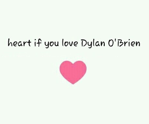 bae, dylan, and heart image
