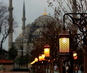 istanbul, lights, and turkey image