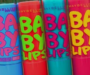 baby, lips, and babylips image