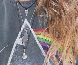 girl, hair, and Pink Floyd image