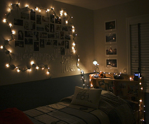 decor, dreamy, and fairy lights image
