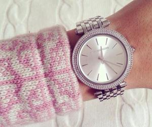 Michael Kors, diamond, and watch image