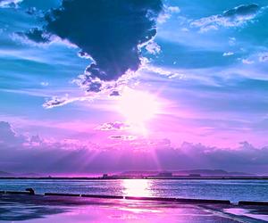 sky, sun, and sea image