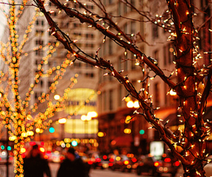 christmas, lights, and header image