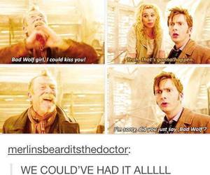 doctor who and tenth and rose image
